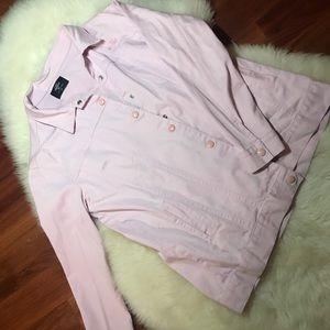 Valfré pink denim jacket.